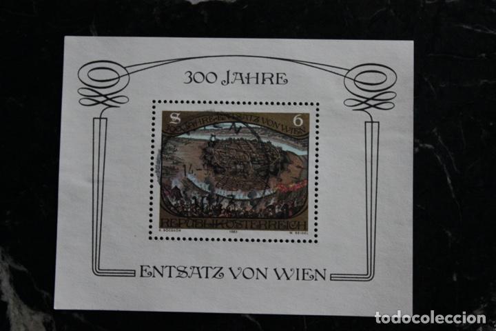 HOJA BLOQUE 1 SELLO AUSTRIA AÑO 1983. 300 ANIVERSARIO ASEDIO VIENA POR LOS OTOMANOS (Sellos - Extranjero - Europa - Austria)