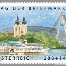 Sellos: AUSTRIA 2015 - TAG DER BRIEFMARKE 2015 MNH. Lote 261878425