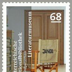 Sellos: AUSTRIA 2015 - ÖSTERREICHISCHE NATIONALBIBLIOTHEK - LITERATURMUSEUM MNH. Lote 261878825