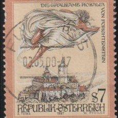 Sellos: AUSTRIA 1997 SCOTT 1718 SELLO º CASTILLOS LEYENDAS THE CRUEL ROSALIA OF FORCHTENSTEIN MICHEL 2212. Lote 262627415