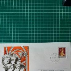 Sellos: AUSTRIA NAVIDAD MATASELLO 1977 OFICIAL FILATELIA COLISEVM COLECCIONISMO. Lote 262679355