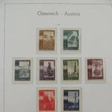 Sellos: HOJA DE SELLOS, AUSTRIA, 1946. Lote 268879109