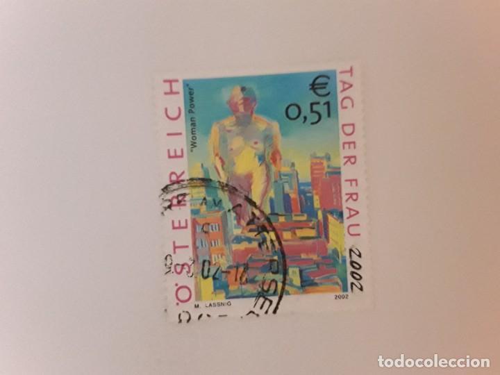 AÑO 2002 AUSTRIA SELLO USADO (Sellos - Extranjero - Europa - Austria)