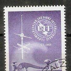 Sellos: AUSTRIA. 1965. YT 1018. Lote 269842008