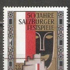 Sellos: AUSTRIA. 1970. YT 1163. Lote 269842448