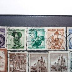 Sellos: SELLOS ANTIGUOS DE AUSTRIA. AÑOS 48/58.. Lote 277210163
