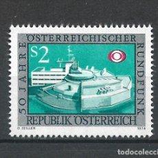 Sellos: AUSTRIA 1974 ** SERIE COMPLETA - 4/57. Lote 278553588
