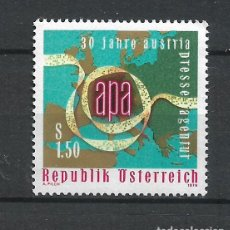 Sellos: AUSTRIA 1976 ** SERIE COMPLETA - 4/58. Lote 278562338