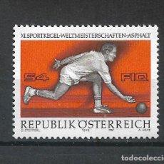 Sellos: AUSTRIA 1976 ** SERIE COMPLETA - 4/58. Lote 278562933