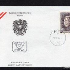 Sellos: HISTORIA POSTAL AUSTRIA, LOTE DE SOBRES (SPD) DE VIENA 1980/1985. Lote 284375058