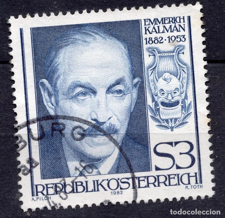 AUSTRIA, 1982 , MICHEL 1722 (Sellos - Extranjero - Europa - Austria)