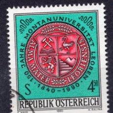 Sellos: AUSTRIA, 1990 , MICHEL 2007. Lote 287860383