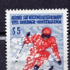 Sellos: AUSTRIA, 1991 , MICHEL 2014. Lote 287860518
