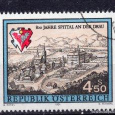 Sellos: AUSTRIA, 1991 , MICHEL 2024. Lote 287860633