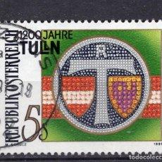 Sellos: AUSTRIA, 1991 , MICHEL 2031. Lote 287860918