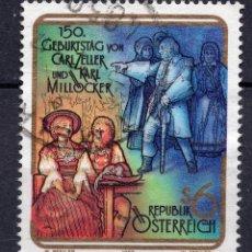 Sellos: AUSTRIA, 1992 , MICHEL 2060. Lote 287862098