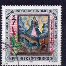 Sellos: AUSTRIA, 1992 , MICHEL 2075. Lote 287862298