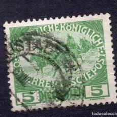 Sellos: AUSTRIA, 1915 , MICHEL 181. Lote 287995993