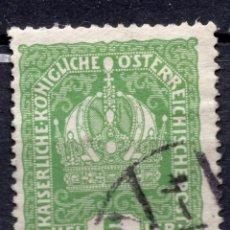 Sellos: AUSTRIA, 1916 , MICHEL 186. Lote 287996228