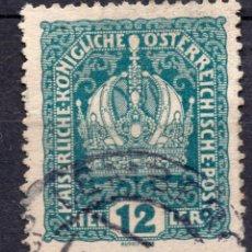 Sellos: AUSTRIA, 1916 , MICHEL 189. Lote 287996518