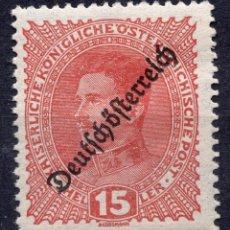 Sellos: AUSTRIA, 1918 , MICHEL 233. Lote 287997043