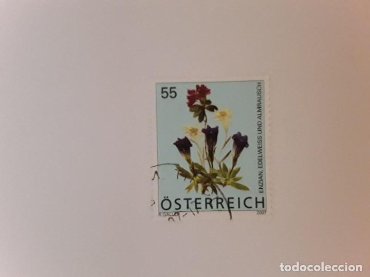AÑO 2008 AUSTRIA SELLO USADO (Sellos - Extranjero - Europa - Austria)