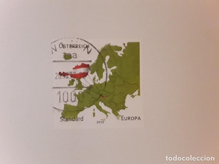 AÑO 2012 AUSTRIA SELLO USADO (Sellos - Extranjero - Europa - Austria)