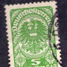 Sellos: AUSTRIA, 1919 , MICHEL 275. Lote 288004883