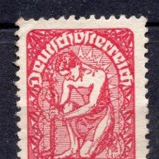 Sellos: AUSTRIA, 1919 , MICHEL 268X. Lote 288005318
