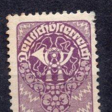 Sellos: AUSTRIA, 1920 , MICHEL 266X. Lote 288005698