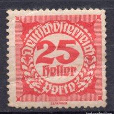 Sellos: AUSTRIA, 1920 , MICHEL P79. Lote 288006043