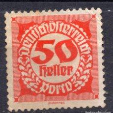 Sellos: AUSTRIA, 1920 , MICHEL P82. Lote 288006183