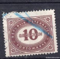 Sellos: AUSTRIA, 1947 , MICHEL P209. Lote 288018708