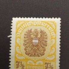 Sellos: ## AUSTRIA NUEVO 1920-21 AGUILA 7,1/2 KRONEN##. Lote 288406483