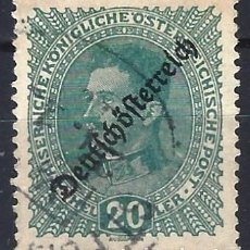 "Sellos: AUSTRIA 1918-19 - SOBREIMPRESO ""DEUTSCHÖSTERREICH"" - USADO. Lote 288698448"