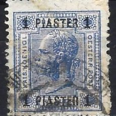Sellos: AUSTRIA 1900 - CORREO AUSTRÍACO, IMPERIO TURCO - SOBRECARGADO - USADO. Lote 288700873