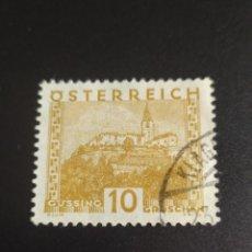 Sellos: ## AUSTRIA USADO 1929 OSTERREICH ##. Lote 288928588