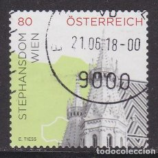 Timbres: AUSTRIA 2015 - SELLO USADO. Lote 289506073