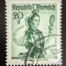 Sellos: AUSTRIA 1948 - YVERT NRO. 742 - USADO. Lote 289904328