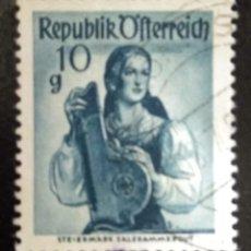 Sellos: AUSTRIA 1948 - YT:AT 740, - USADO. Lote 289904758