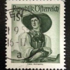 Sellos: AUSTRIA 1951 - YVERT NRO. 801 - USADO. Lote 289909483