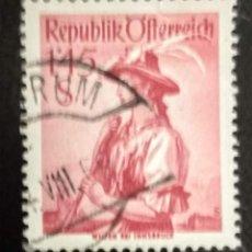 Sellos: AUSTRIA 1951 - YVERT NRO. 802 - USADO. Lote 289909938