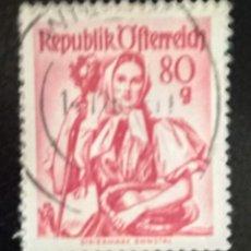 Sellos: AUSTRIA 1948 - YVERT NRO. 749A - USADO. Lote 289910453