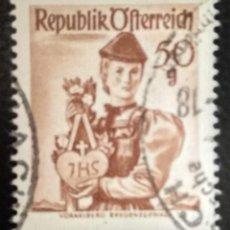 Sellos: AUSTRIA 1948 - YVERT NRO. 746 - USADO. Lote 289911258