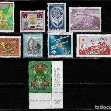 Sellos: AUSTRIA, LOTE DE 9 VALORES. MNH.. Lote 292146993