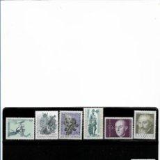Sellos: AUSTRIA, LOTE DE 12 VALORES FORMANDO SERIES COMPLETAS. MNH.. Lote 292153163