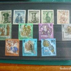 Francobolli: 12 SELLOS DE AUSTRIA. Lote 292158398