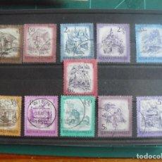 Francobolli: 11 SELLOS DE AUSTRIA. Lote 292158808