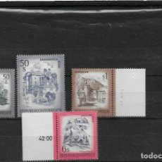 Sellos: AUSTRIA 1975, SERIE 1803/06 PAISAJES MNH.. Lote 292163568
