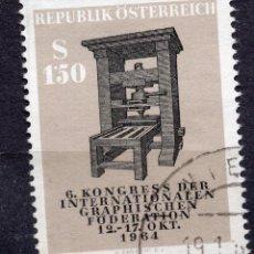 Sellos: AUSTRIA, 1964 , , MICHEL 1175. Lote 292264658